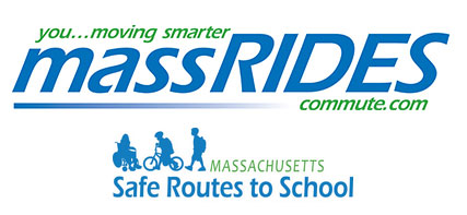 Mass Rides Safe Routes to School Logos