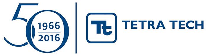 Tetra Tech 50 Years Logo