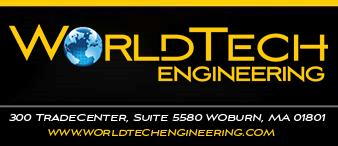 world tech engineering logo